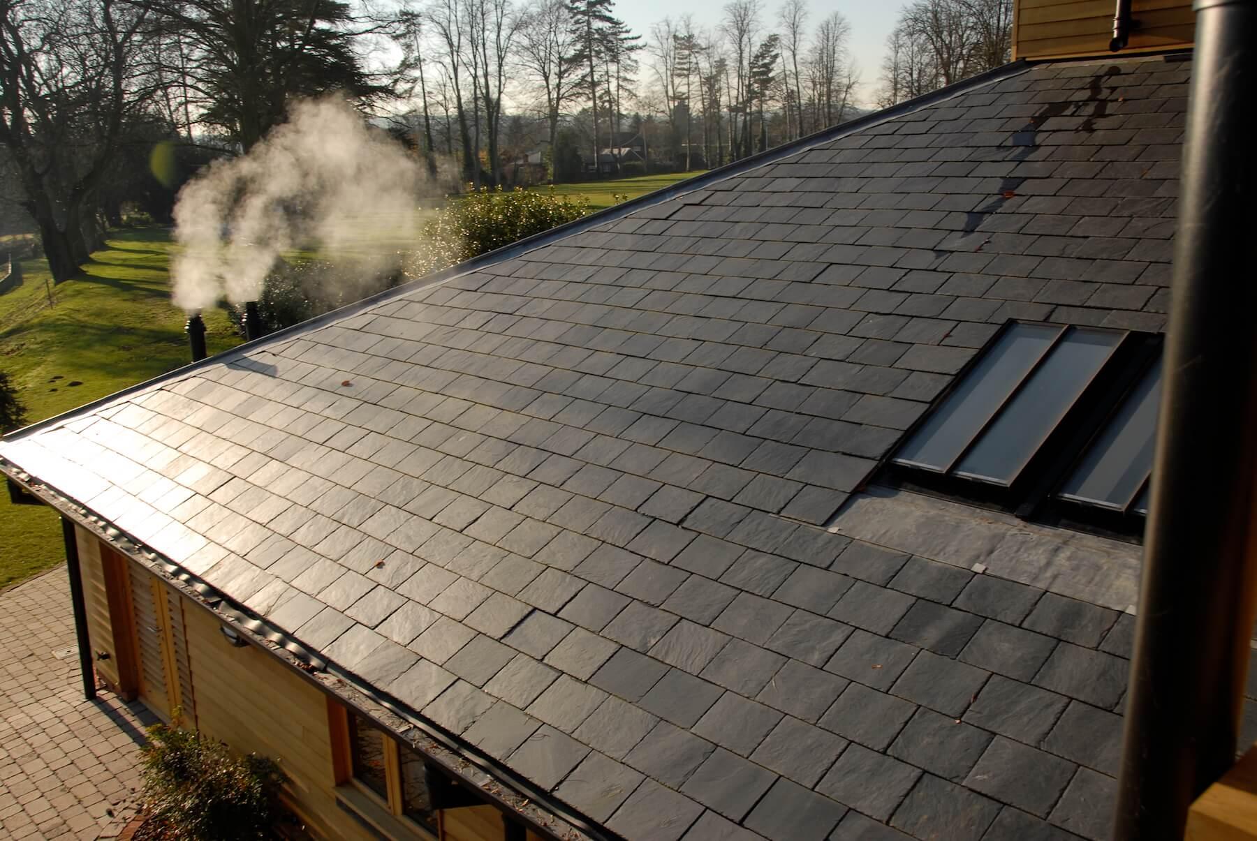 Mulsford Preparatory School slate roof