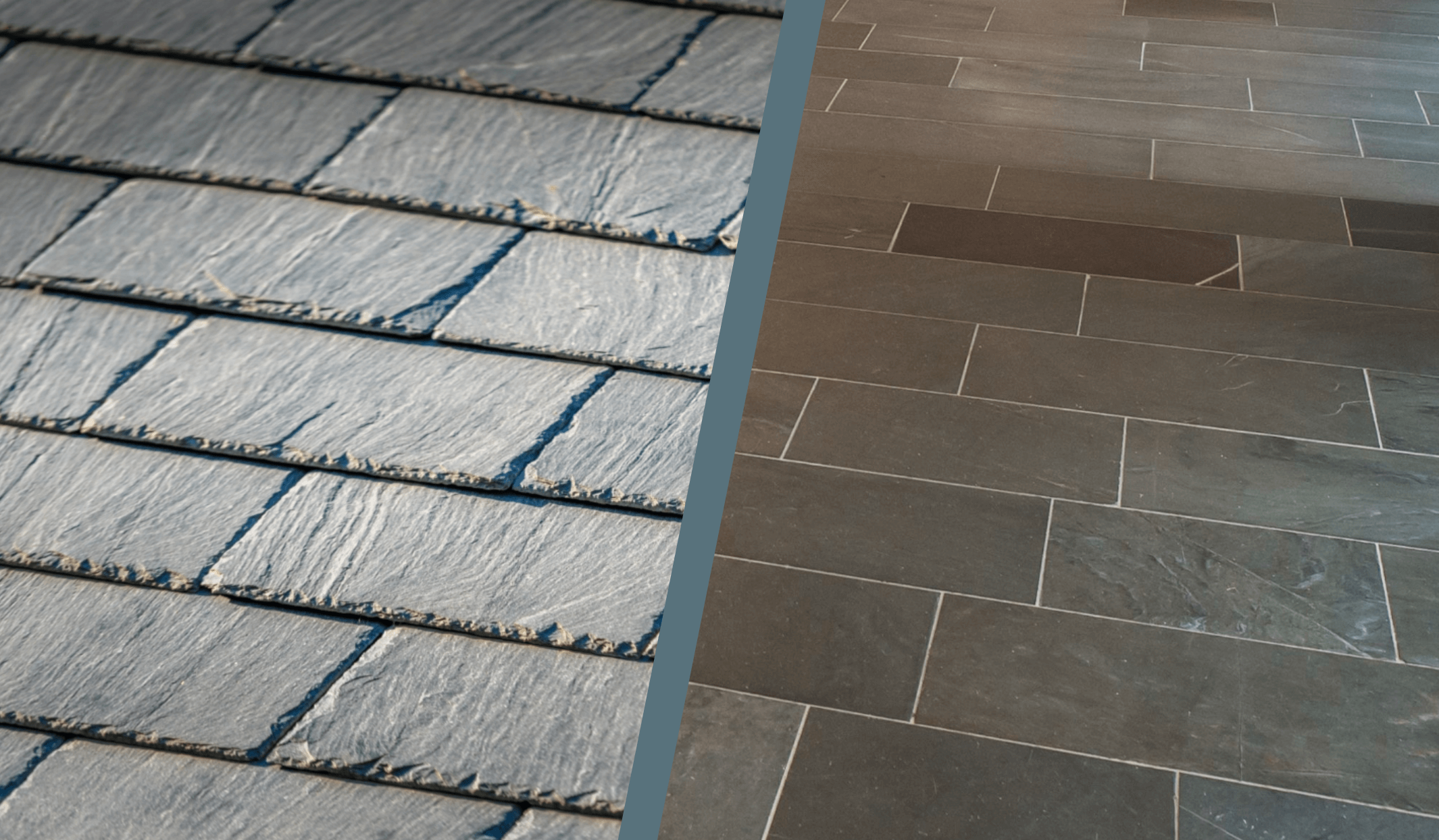 slate roofing and flooring