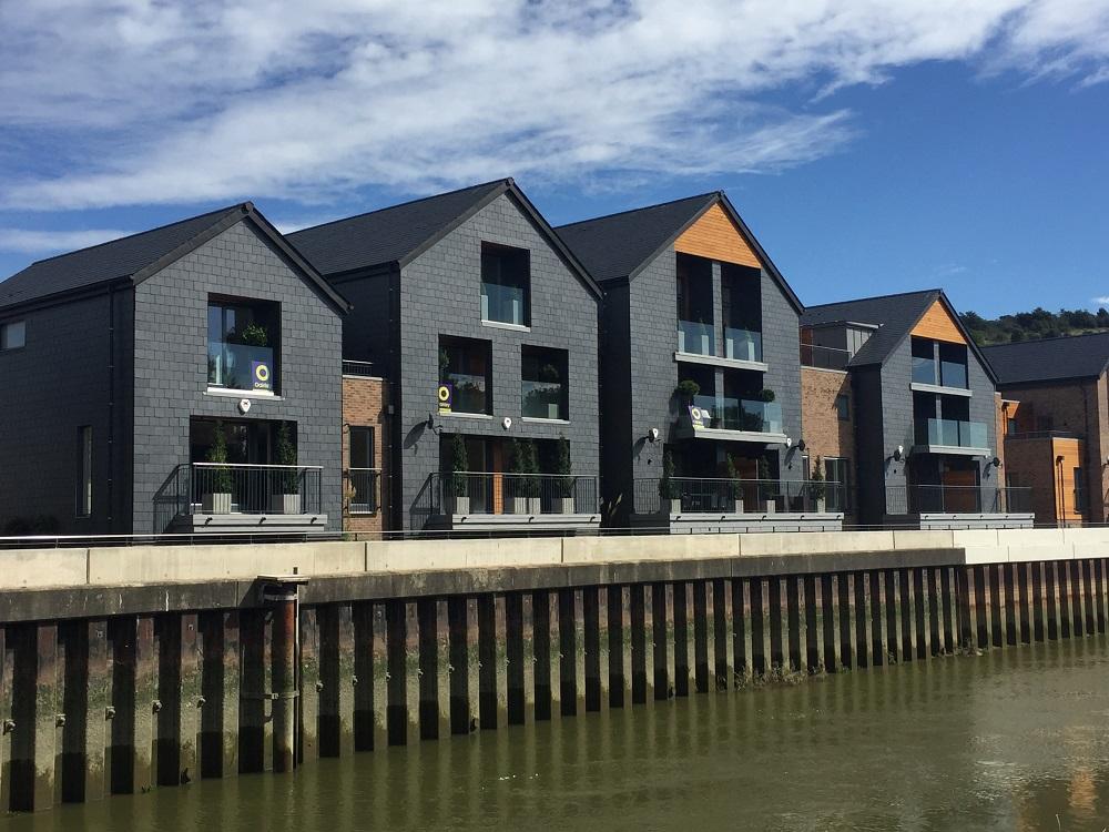 Chandlers Wharf houses