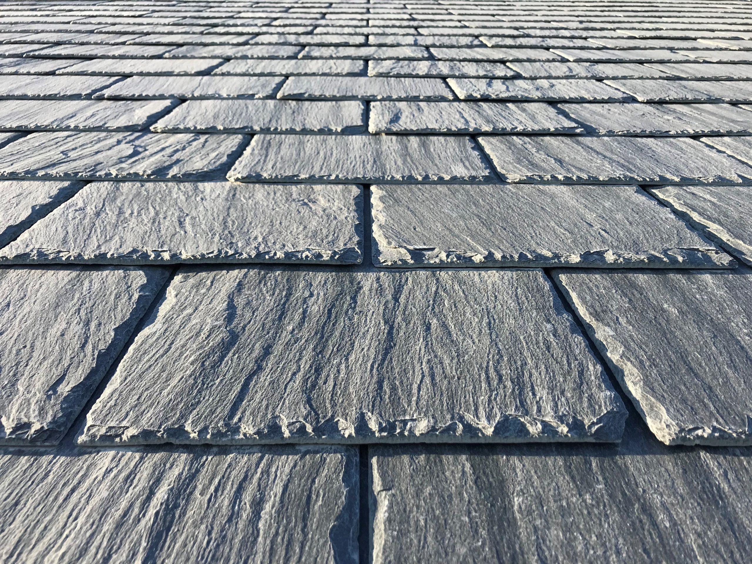 slate roof close-up