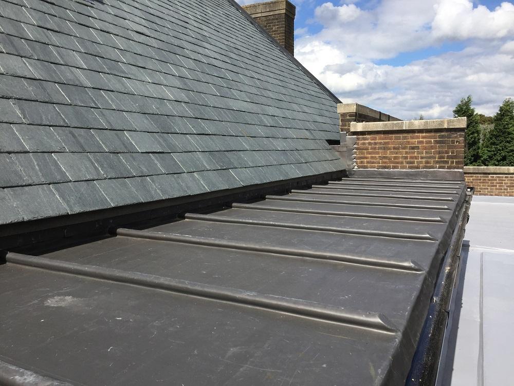 Minchenden School slate roof