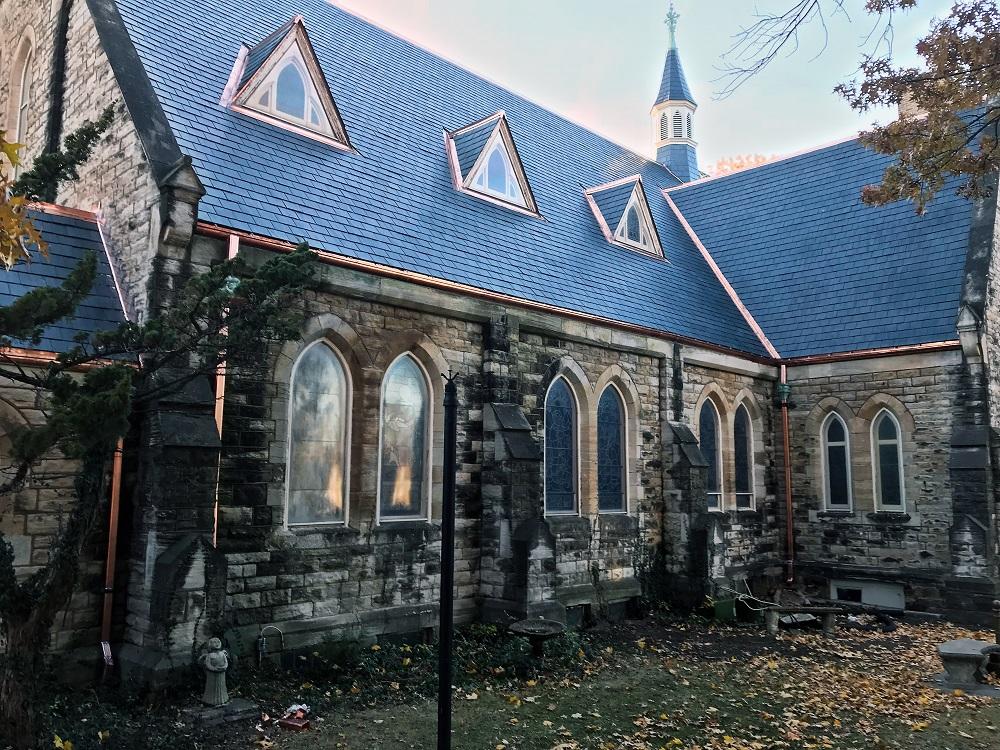 St Johns Episcopal Church slate roof