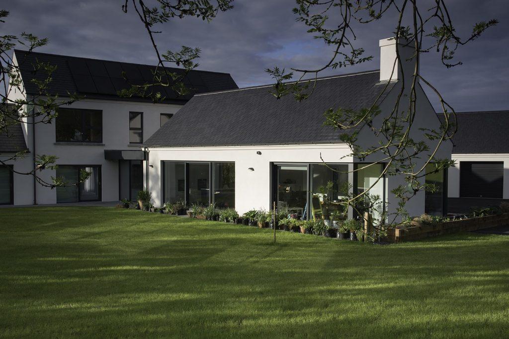 large home slate roof