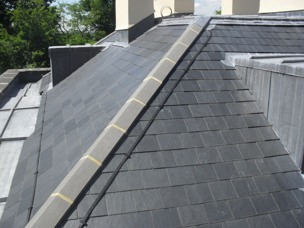 military academy slate roof