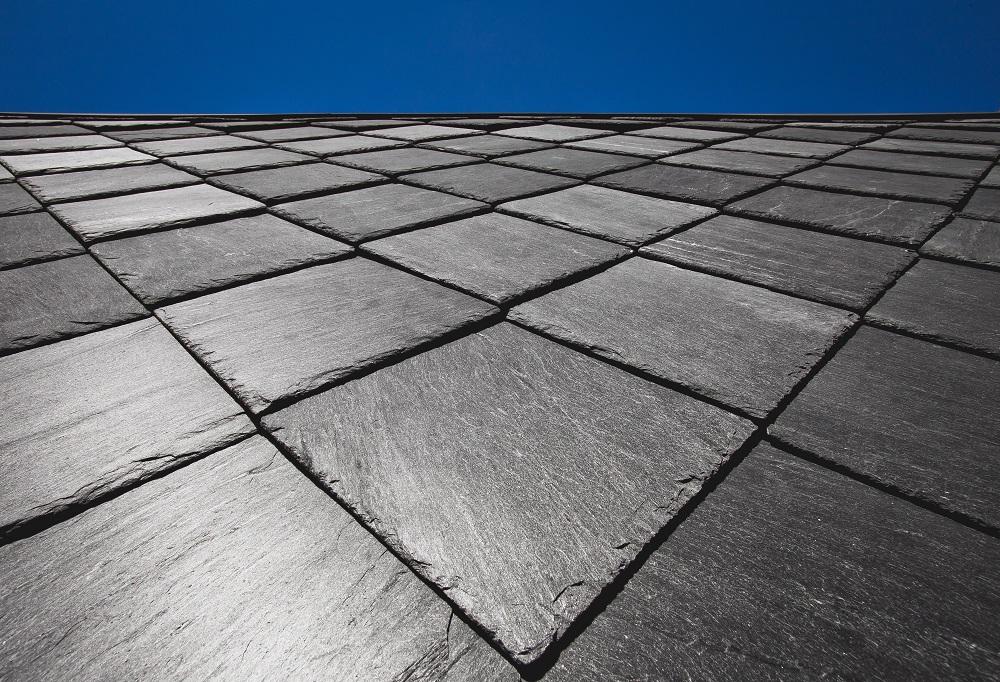 slate roof close-up