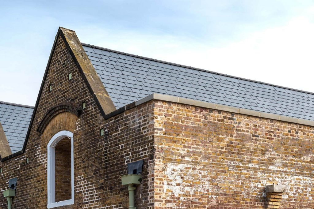 Magazine B brick sheds
